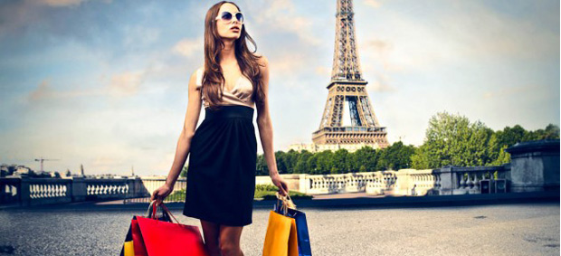 Shopping de luxe_ les diamants de Paris